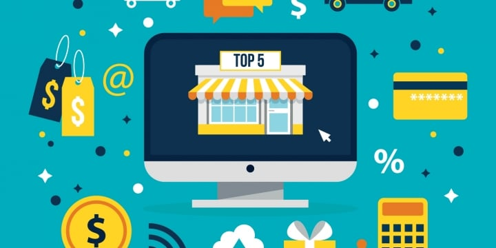 أفضل 5 منصات للمتاجر الالكترونية لبيع منتجاتك
