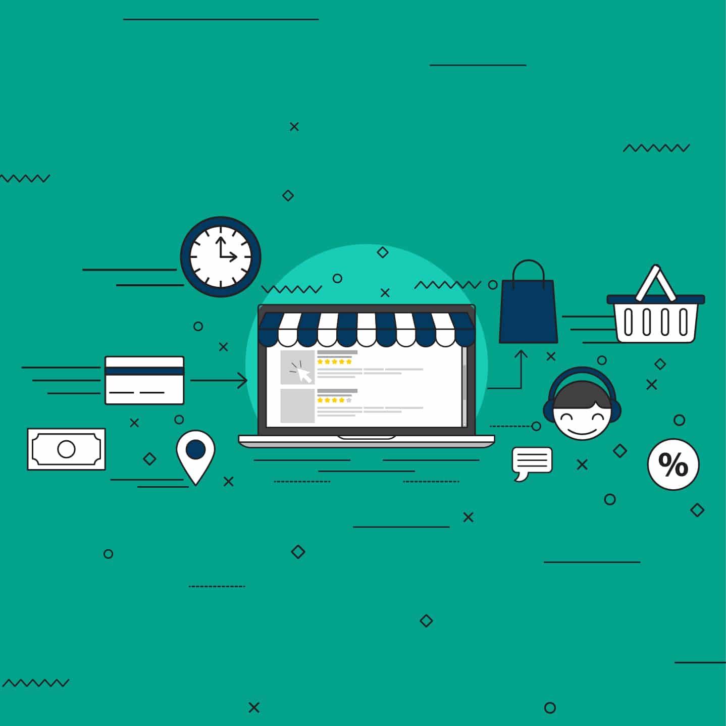 بحث عن التجارة الالكترونية في السعودية