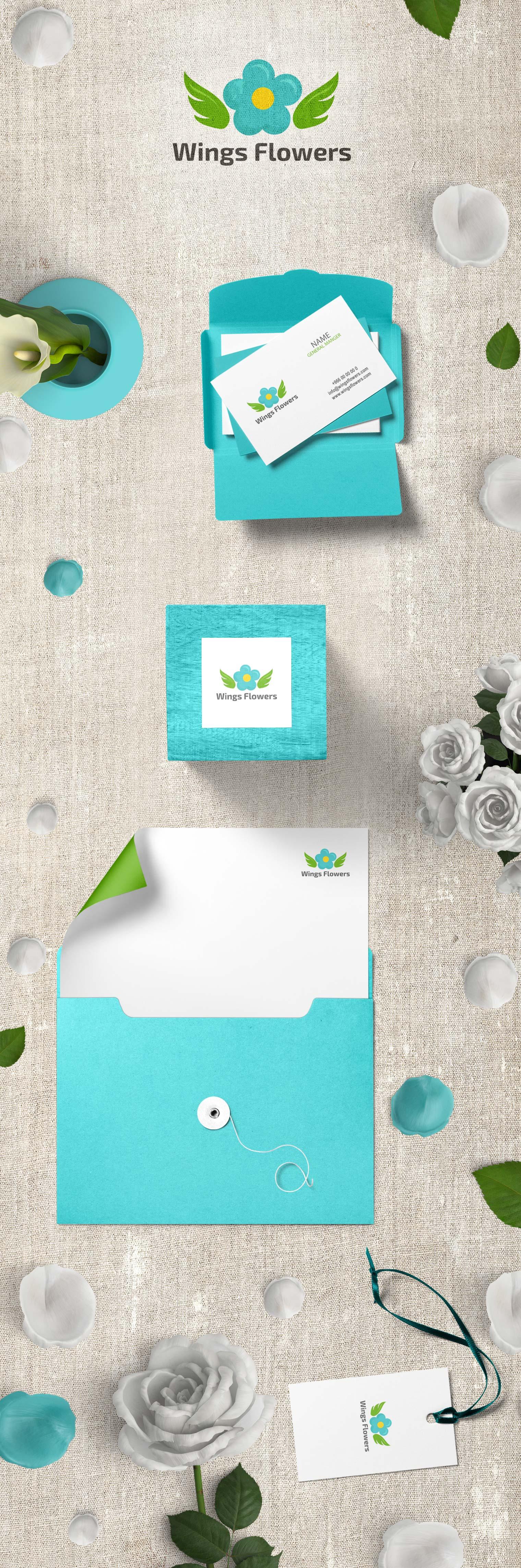 شركة أجنحة الزهور