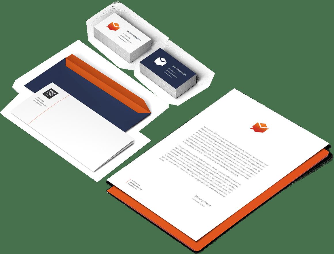 تصميم وتطوير الهوية البصرية