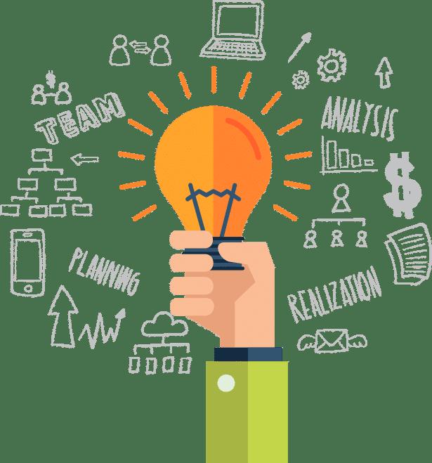 Develop your own idea